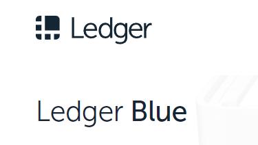 ledger blue cryptocurrency wallet
